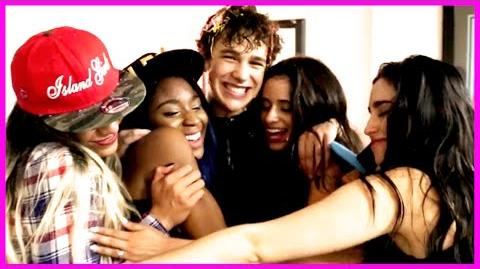 """5th Harmony, Austin Mahone & Shawn Mendes """"Ketchup in Your Face!"""" - Fifth Harmony Takeover Ep. 28"""