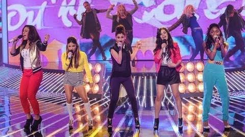 """Fifth Harmony """"Give Your Heart a Break"""" - Live Show 6 (Top 6) - The X Factor USA 2012 HD"""