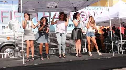 Dont Wanna Dance Alone - Fifth Harmony (8.9.13, La Cantera, San Antonio)