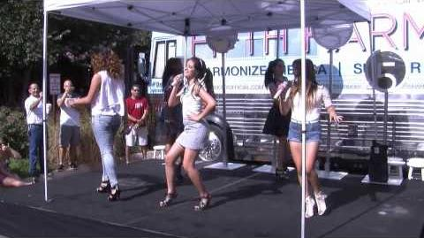 Fifth Harmony performing Dont Let Me Dance Alone (SAN ANTONIO)