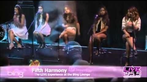 Fifth Harmony - Want U Back With Ur Love (Cher Lloyd cover)