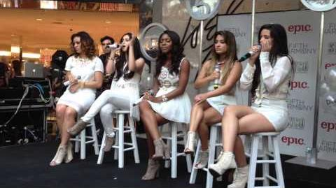 "Fifth Harmony covering ""Stay"" live"