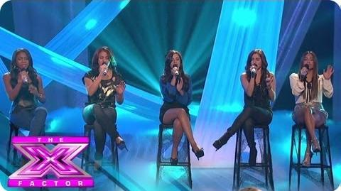 1432 Becomes Fifth Harmony - THE X FACTOR USA 2012