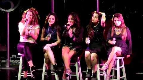 "Fifth Harmony ""Royals"" Performance at I Wish Tour San Francisco"