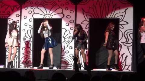 Miss Movin' On - Fifth Harmony (Neon Lights Tour) Glendale, AZ 2 15 14