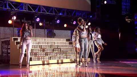 "Fifth Harmony ""Miss Movin' On""at the 2014 RDMA Radio Disney Music Awards Radio Disney-1438979350"