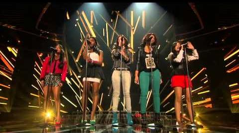 "Fifth Harmony ""Skyscraper"" - Live Week 1 (Sing-Off) - The X Factor USA 2012"
