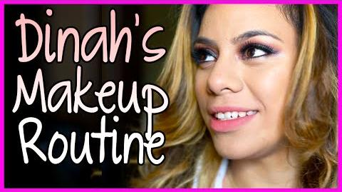 Dinah's MakeUp Routine - Fifth Harmony Takeover Ep. 52