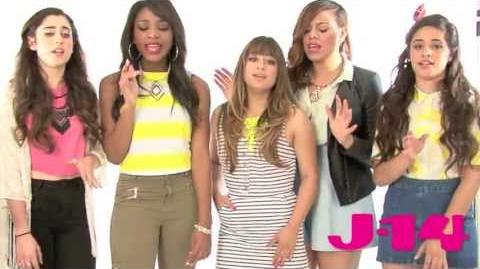 J 14 Exclusive Fifth Harmony Cover Taylor Swift's Red-0