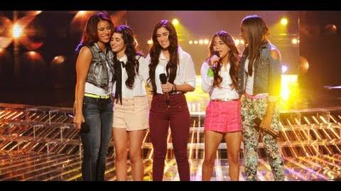 "Fifth Harmony ""I'll Stand By You"" - Live Week 4 - The X Factor USA 2012"