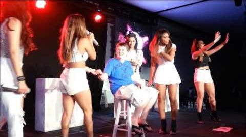 Fifth Harmony- 5th Times The Charm Tour- Freehold, NJ 6 8 14 All Of Me- Cover