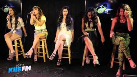 "Fifth Harmony Performs ""Miss Movin' On"" Live On The Weekend Mixtape"