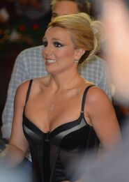 Britney Spears at 2012 X Factor Finale -01