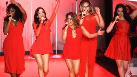 Fifth Harmony Sledgehammer Live At New York Fashion Week