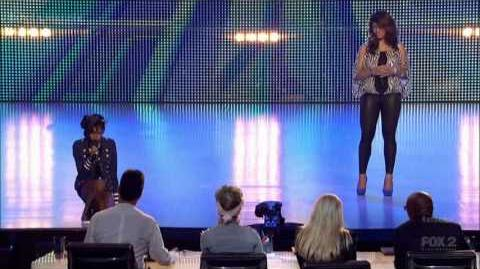 Diamond White & Dinah Jane Hansen - X Factor USA S2 (Boot 2)