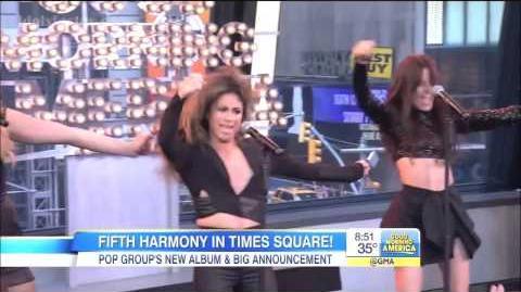 Fifth Harmony - Sledgehammer (GMA)