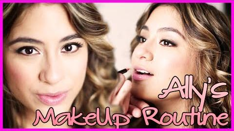 Ally's MakeUp Routine - Fifth Harmony Takeover Ep 22