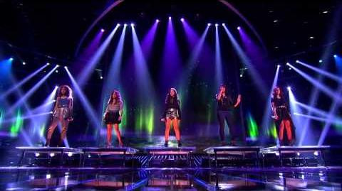 """Fifth Harmony """"Impossible"""" - Semi-Final (Top 4) - The X Factor USA 2012 HD"""