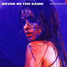 Never be the same cover