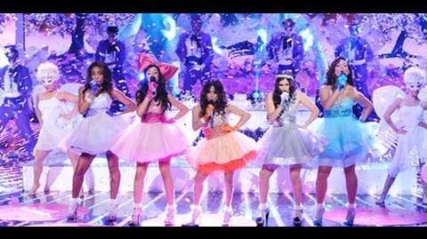 """Fifth Harmony """"Anything Could Happen"""" - Show Final - The X Factor USA 2012 HD-1"""