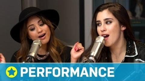 """Fifth Harmony - """"Me & My Girls"""" (Acoustic) Performance On Air with Ryan Seacrest-0"""