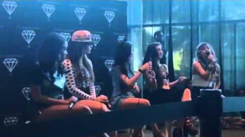 Fifth Harmony - Honeymoon Avenue Acoustic Performance (Neon Lights Tour - Sunrise, FL) 2 25 14