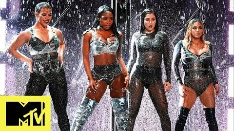 Fifth Harmony Ft. Gucci Mane Perform 'Down' & 'Angel' VMAs 2017