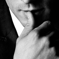This is a close up on Christian grey