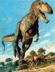 Giganotosaurus-dibujo-tierra