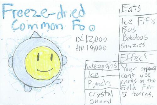 Freeze-dried Common Foo