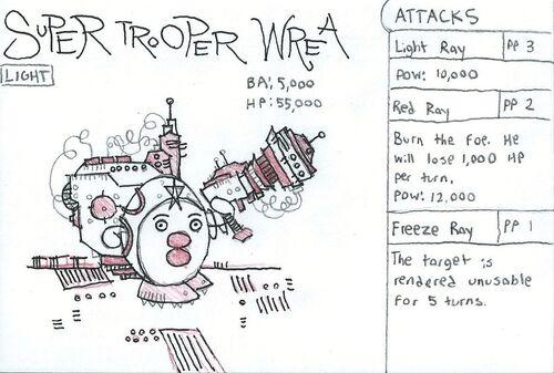 Super Trooper Wrea