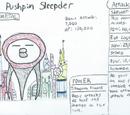 Triple Pushpin Sleepder