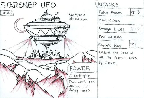 Starsnep UFO