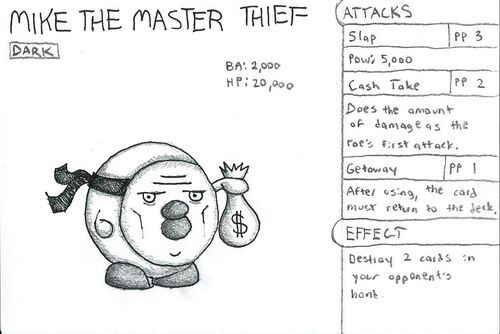 Mike the Master Thief