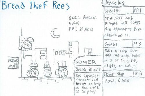 Bread Thief Rees