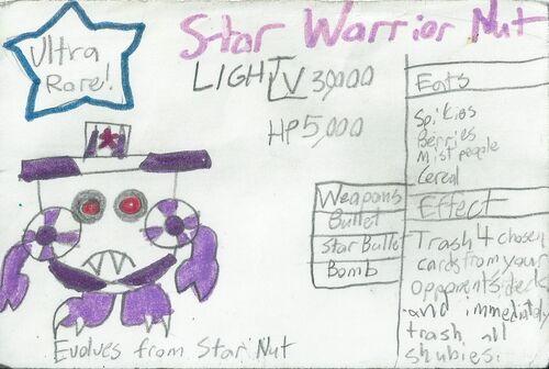 Star Warrior Nut Light