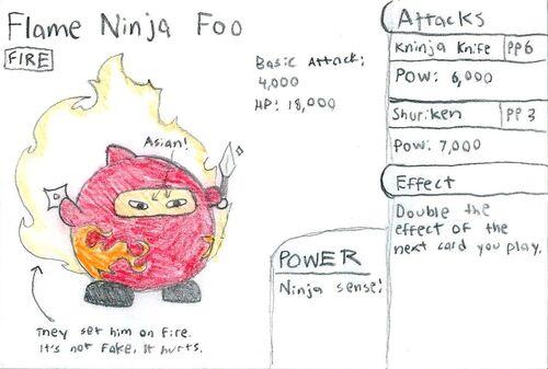 Flame Ninja Foo