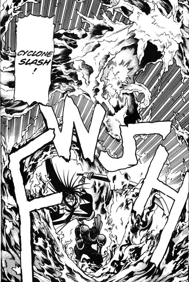 Haomaru lançando o Cyclone Slash