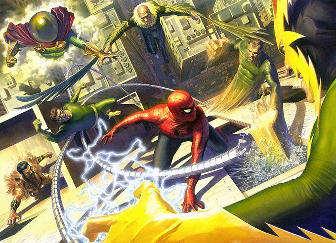 Homem Aranha vs Sinister Six 8