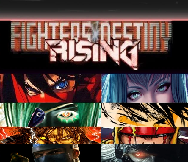 Fighters of Destiny Rising - Cover