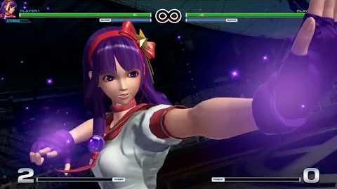 Athena Asamiya Climax Desperation KOF XIV Super Special Move