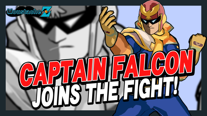 Capitain Falcon Joins the Fight!