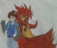 Sonoichi e sua forma Satsui No Hadou