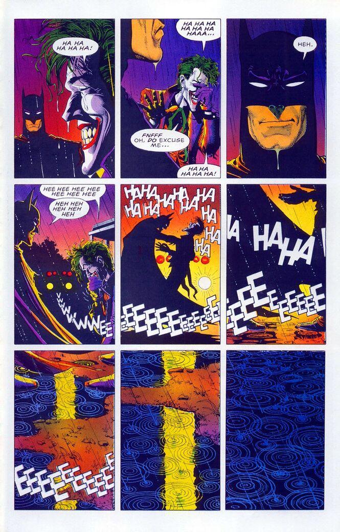 Batman mata Coringa