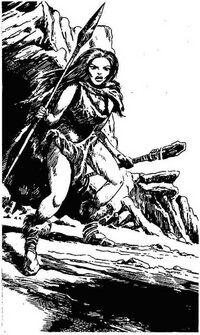 Ilk cave woman