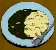 Beans and mashed potatoes
