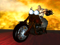 Smasher motorcycle