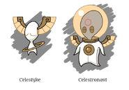 Celestyke beast family