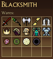 Blacksmith screen M3