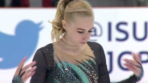 Daria PANENKOVA RUS Ladies Short Program RIGA 2017
